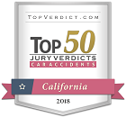 Top 50 Car Accidents Verdicts Firm 2018